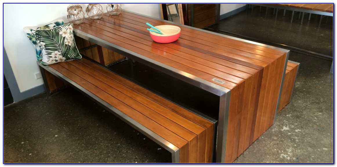 Timber Dining Table With Bench Seats Sydney