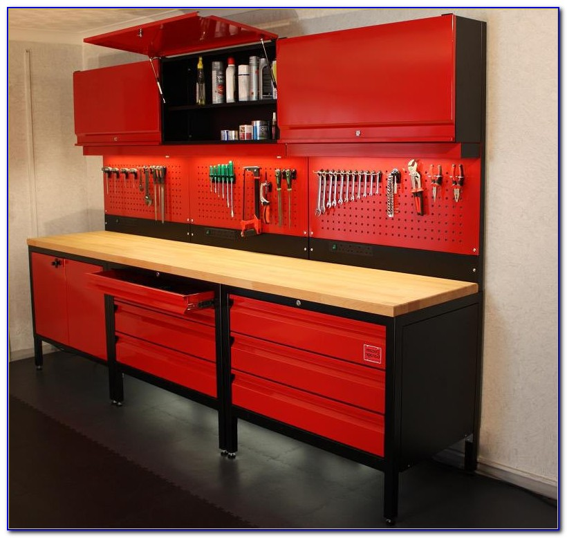 Tool Bench For Garage