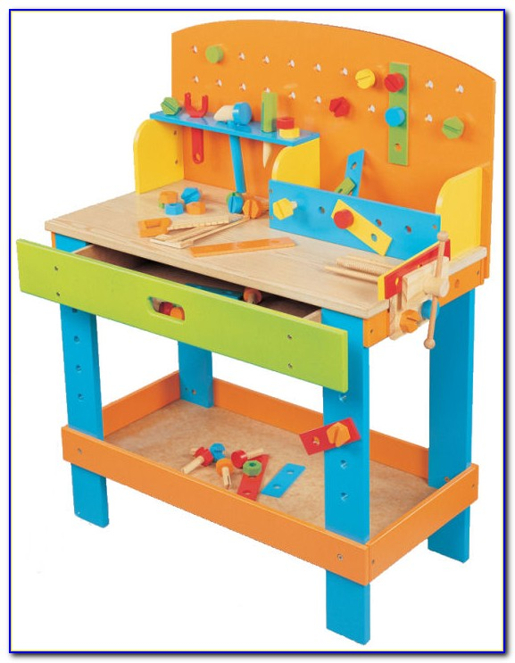 Toy Wood Workbench