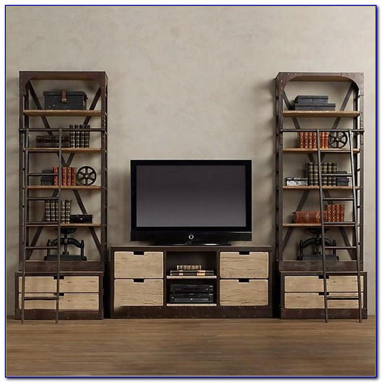 Tv Stand Bookshelf Combo Ikea