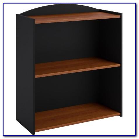 Two Shelf Bookcase White