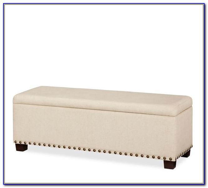 Upholstered Benches With Storage