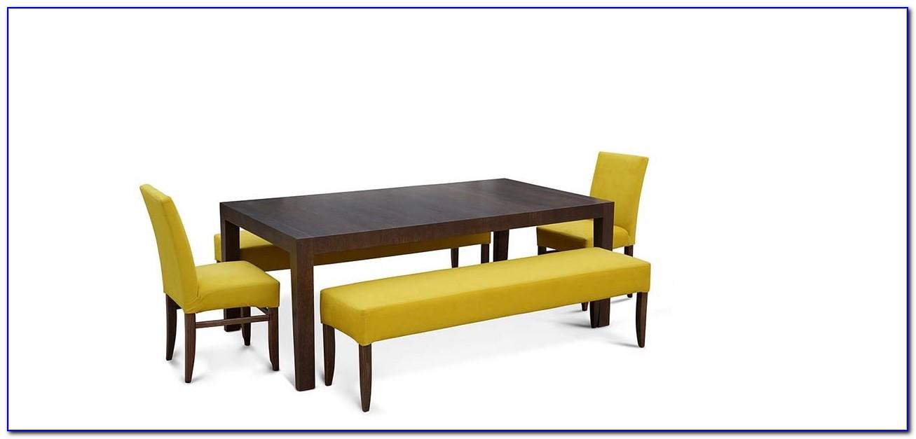Upholstered Corner Bench Dining Set