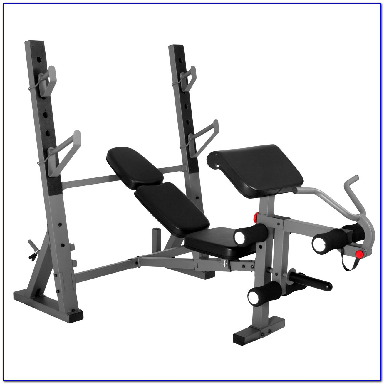 Weight Bench With Preacher Curl Attachment