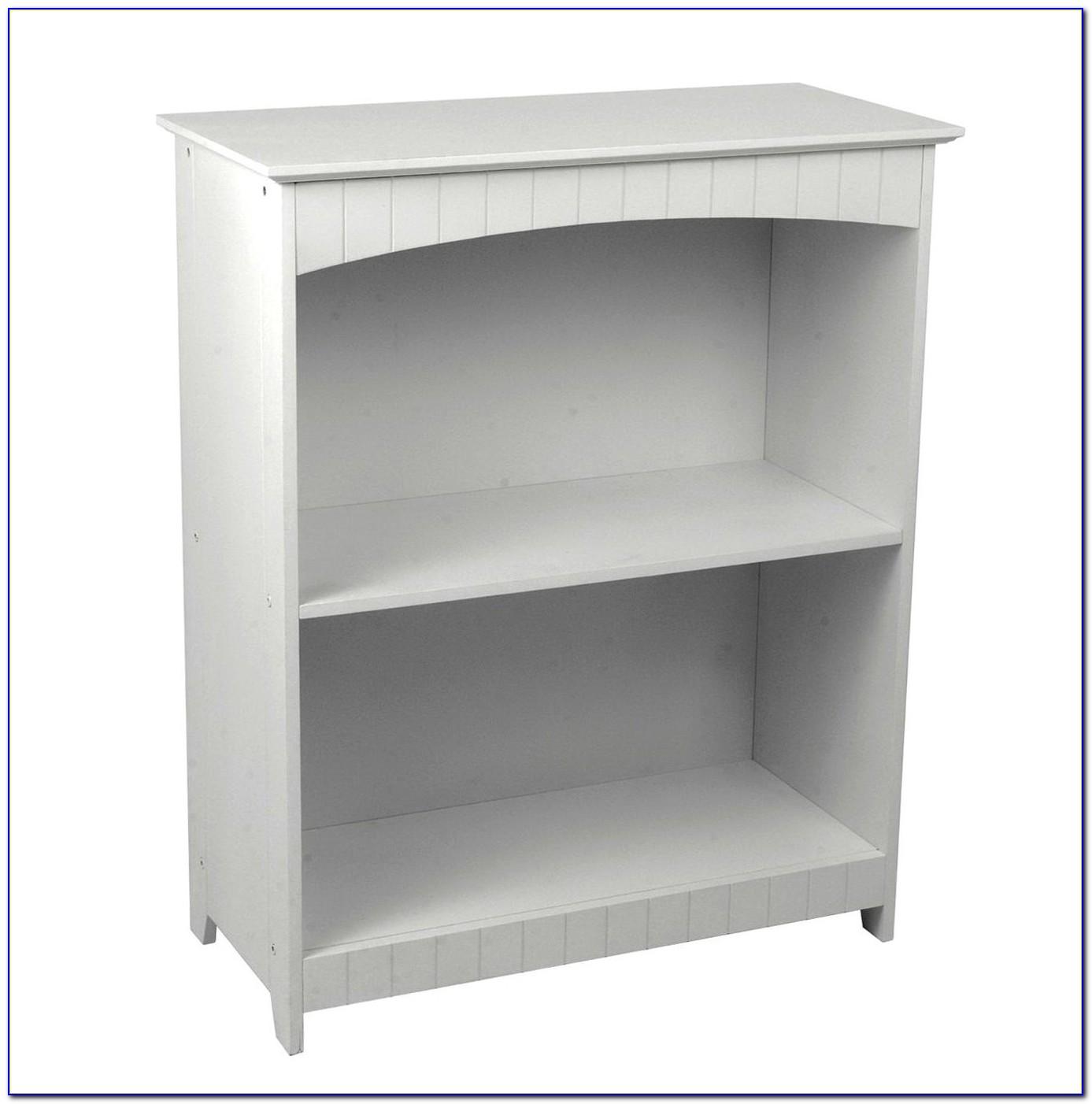 White 2 Shelf Bookshelf