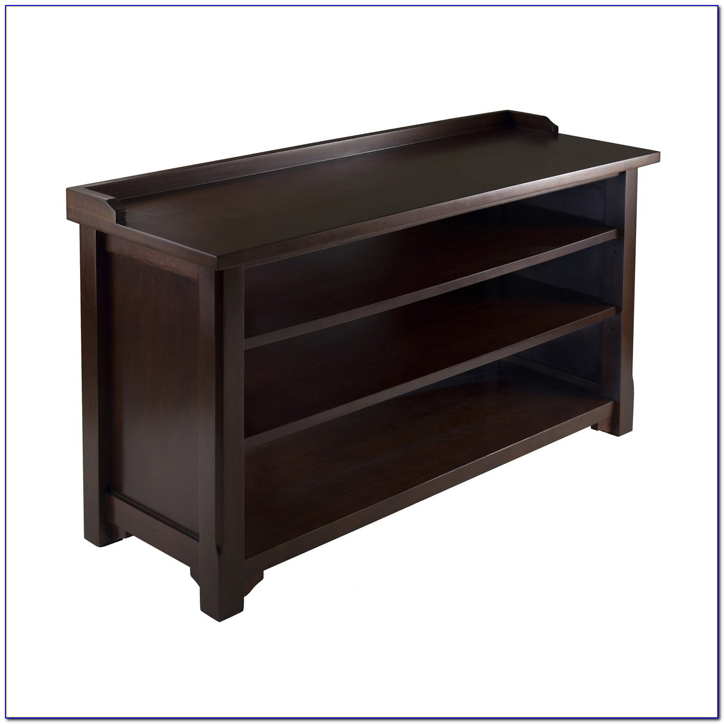 Winsome Wood Milan Wood Storage Bench