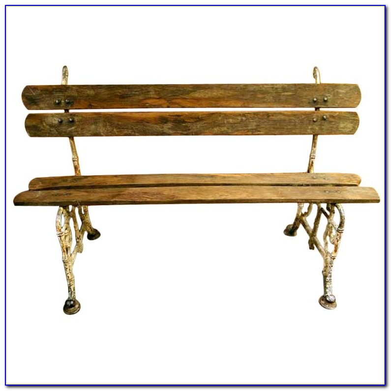 Wood And Cast Iron Garden Benches