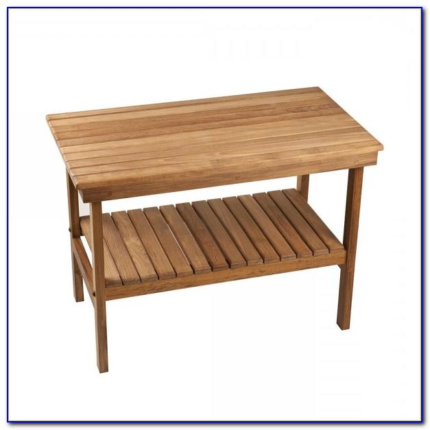 Wooden Bench For Bathroom Sink