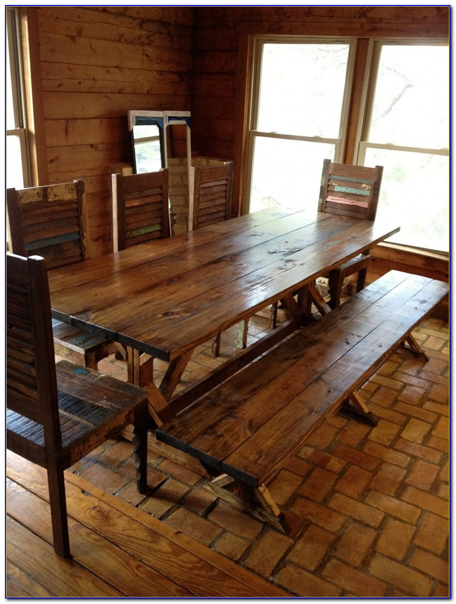 Wooden Dining Table Seats 8