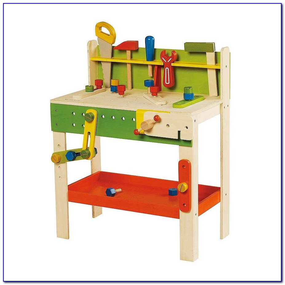 Wooden Work Bench Toys