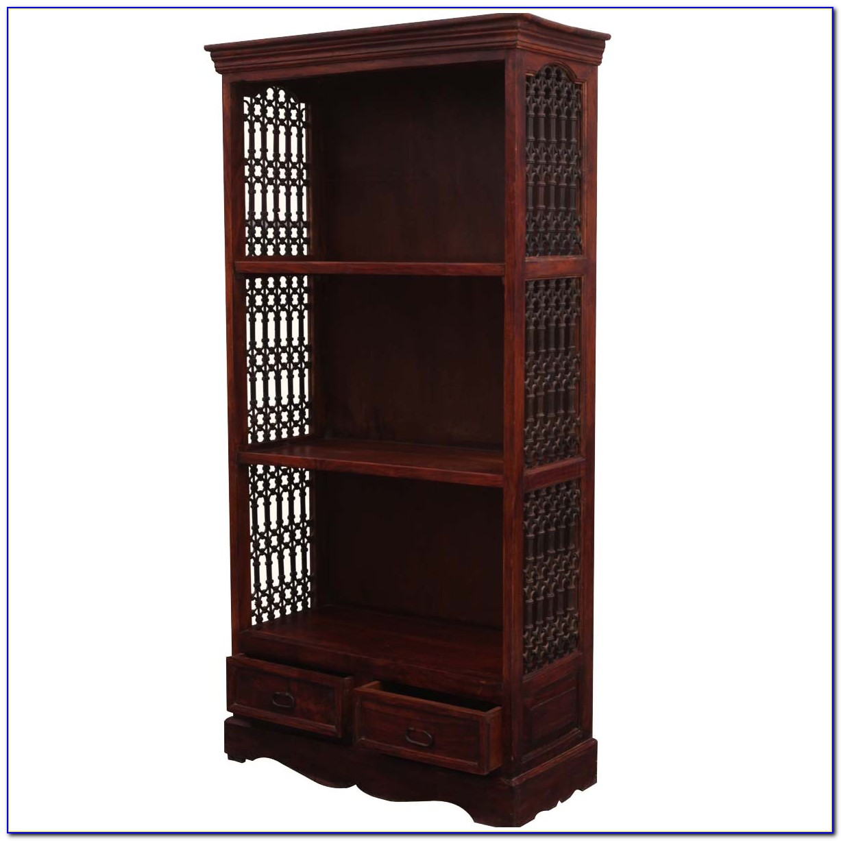 Wrought Iron Bookcase Designs