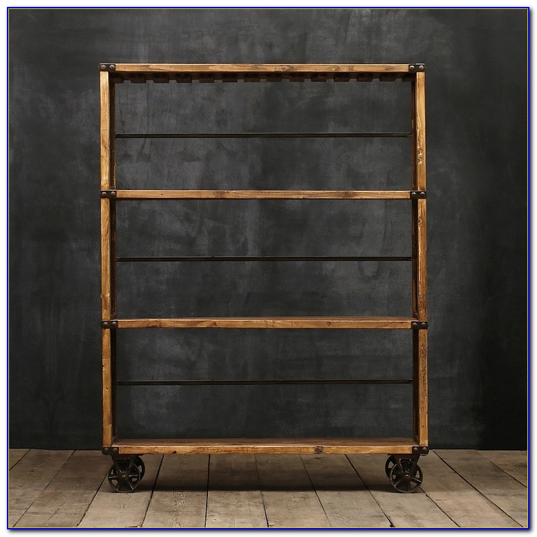Wrought Iron Bookcases Storage
