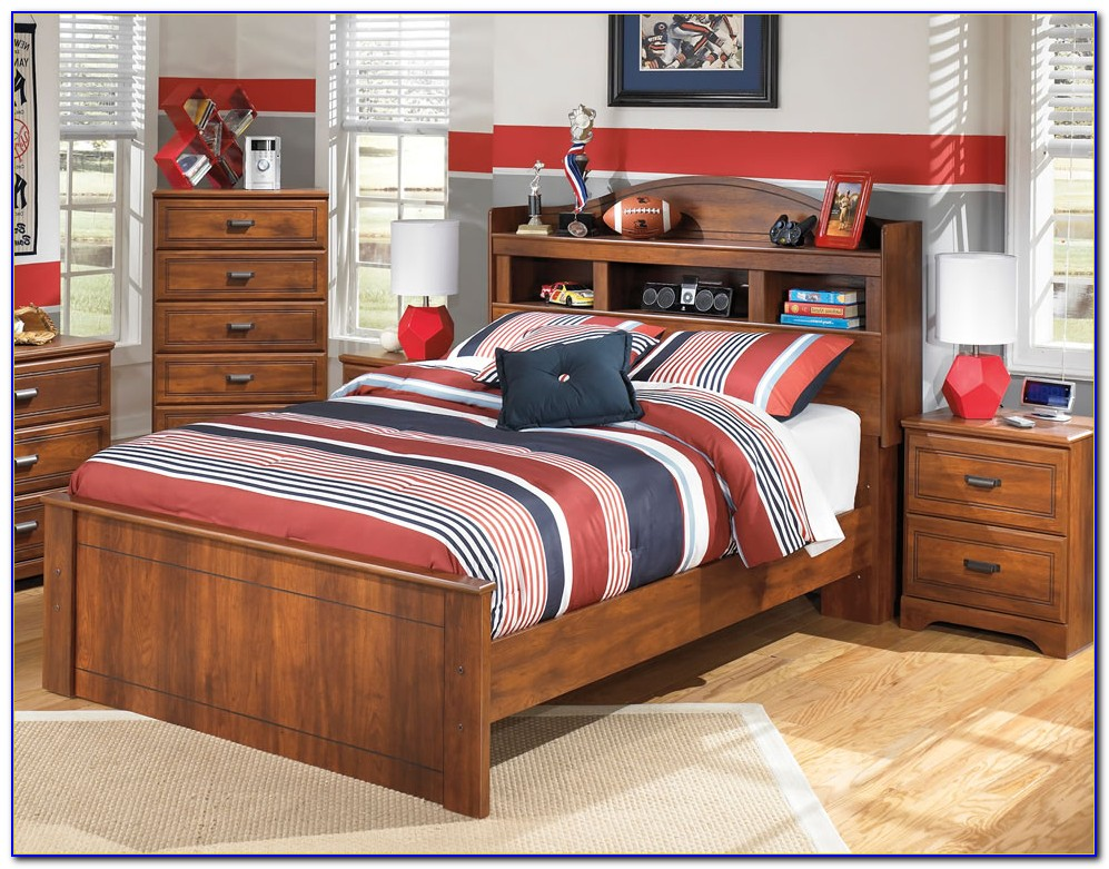 Zayley Full Storage Bookcase Bed By Ashley