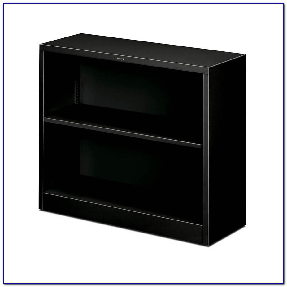 2 Shelf Bookshelf Black