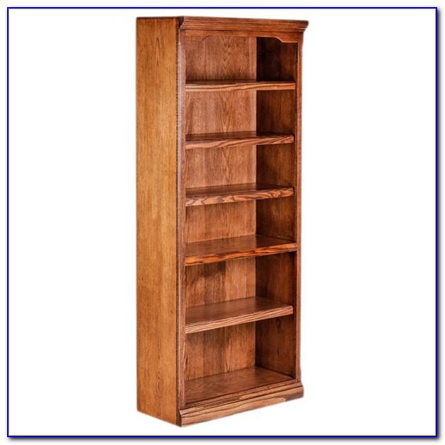 30 Inch High White Bookcase