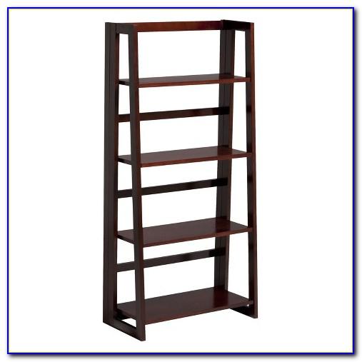 4 Shelf Folding Bookshelf