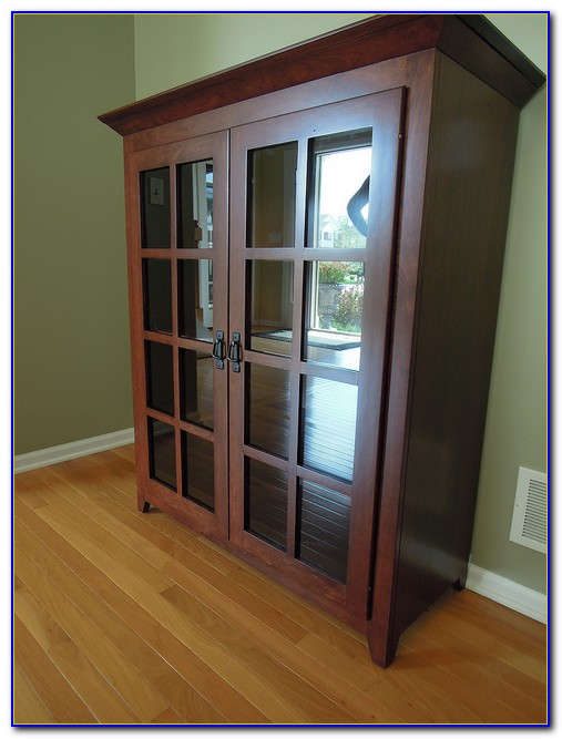 48 Inch Wide Bookcase With Doors