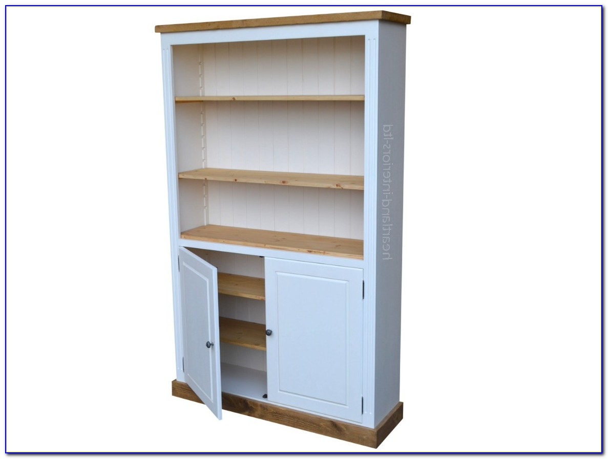 6 Foot Bookcase With Doors