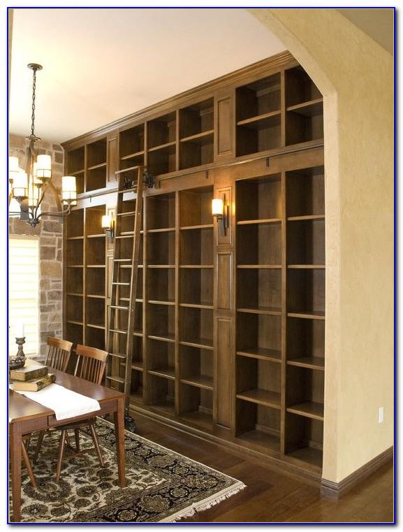 6 Foot Oak Bookcase