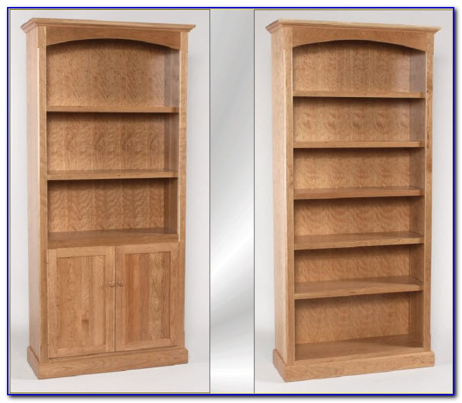 72 Inch Oak Bookcase