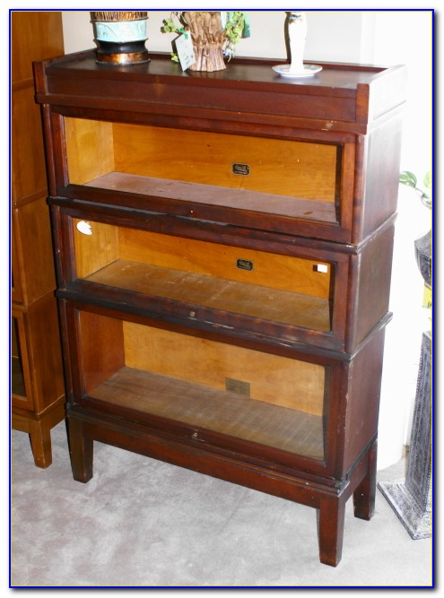 Antique Barrister Bookcase Texas