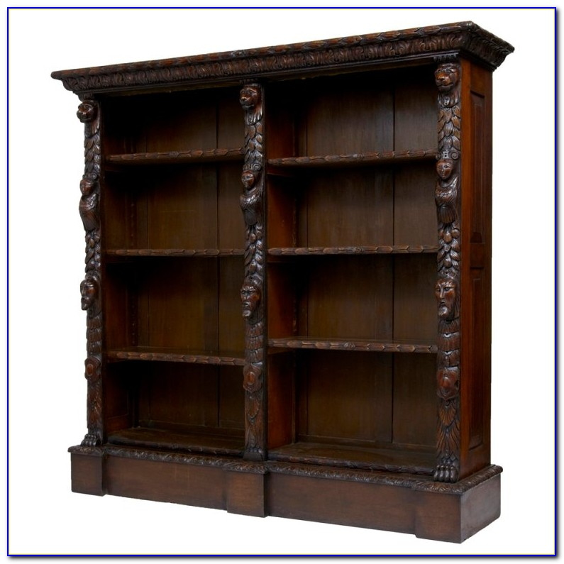 Antique Wood Bookshelves