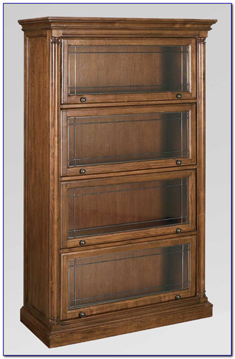 Barrister Bookcase With Glass Doors