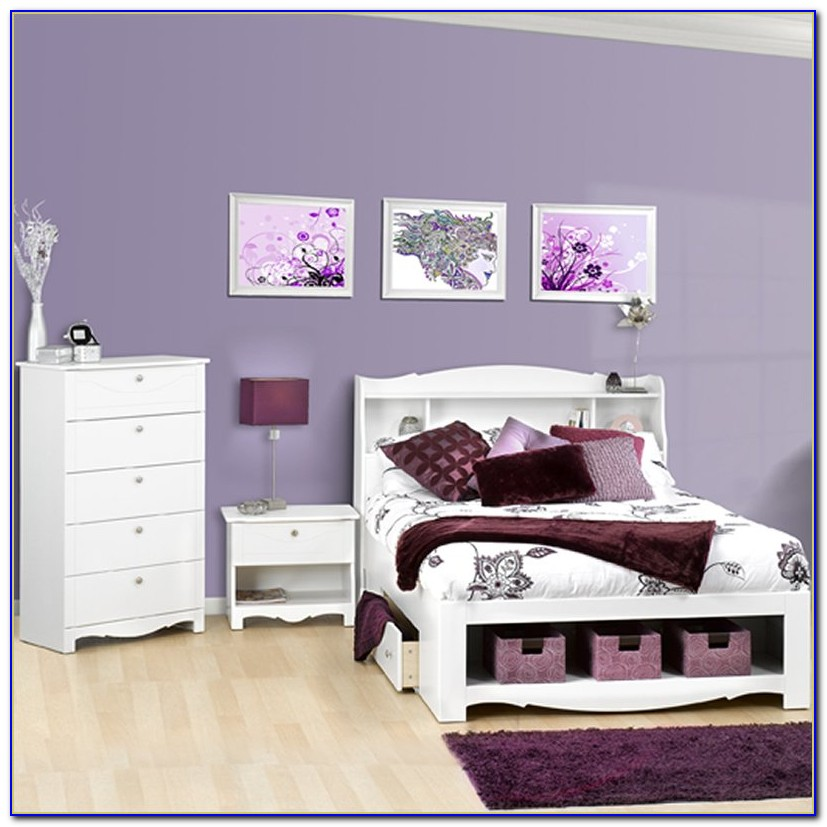 Bed With Bookcase Headboard Australia