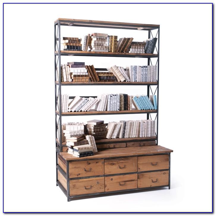 Bench Bookcase Design