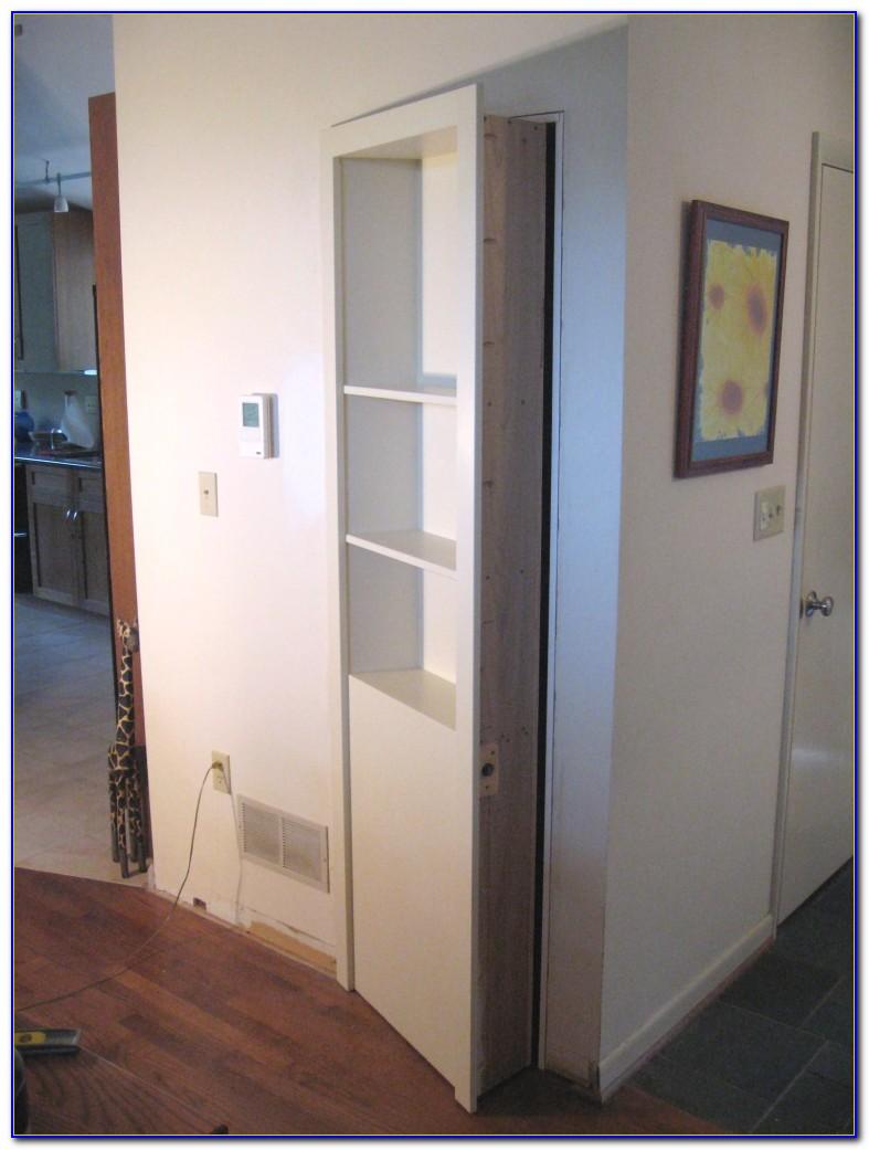 Bifold Bookcase Closet Doors