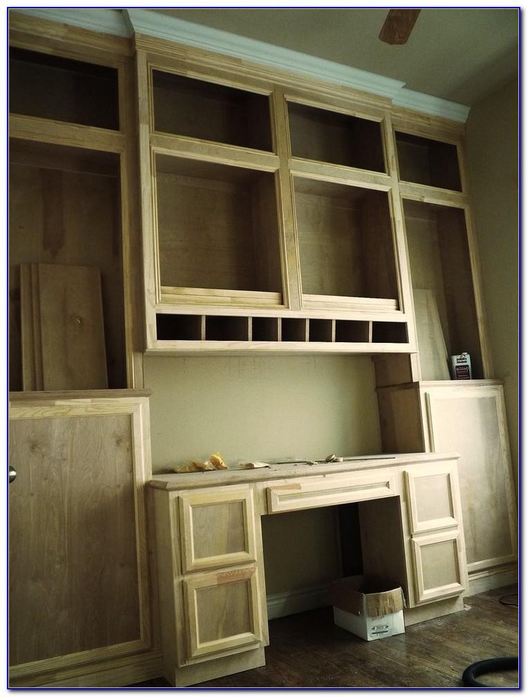 Billy Bookcase Built In Desk