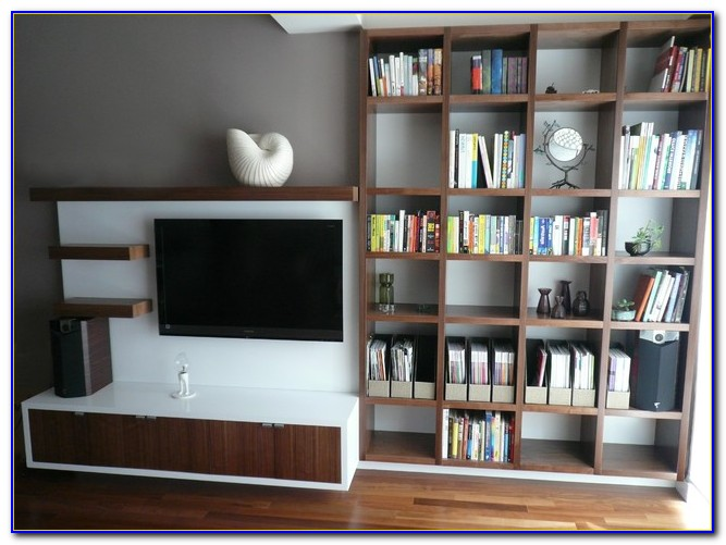 Billy Bookcase Media Center