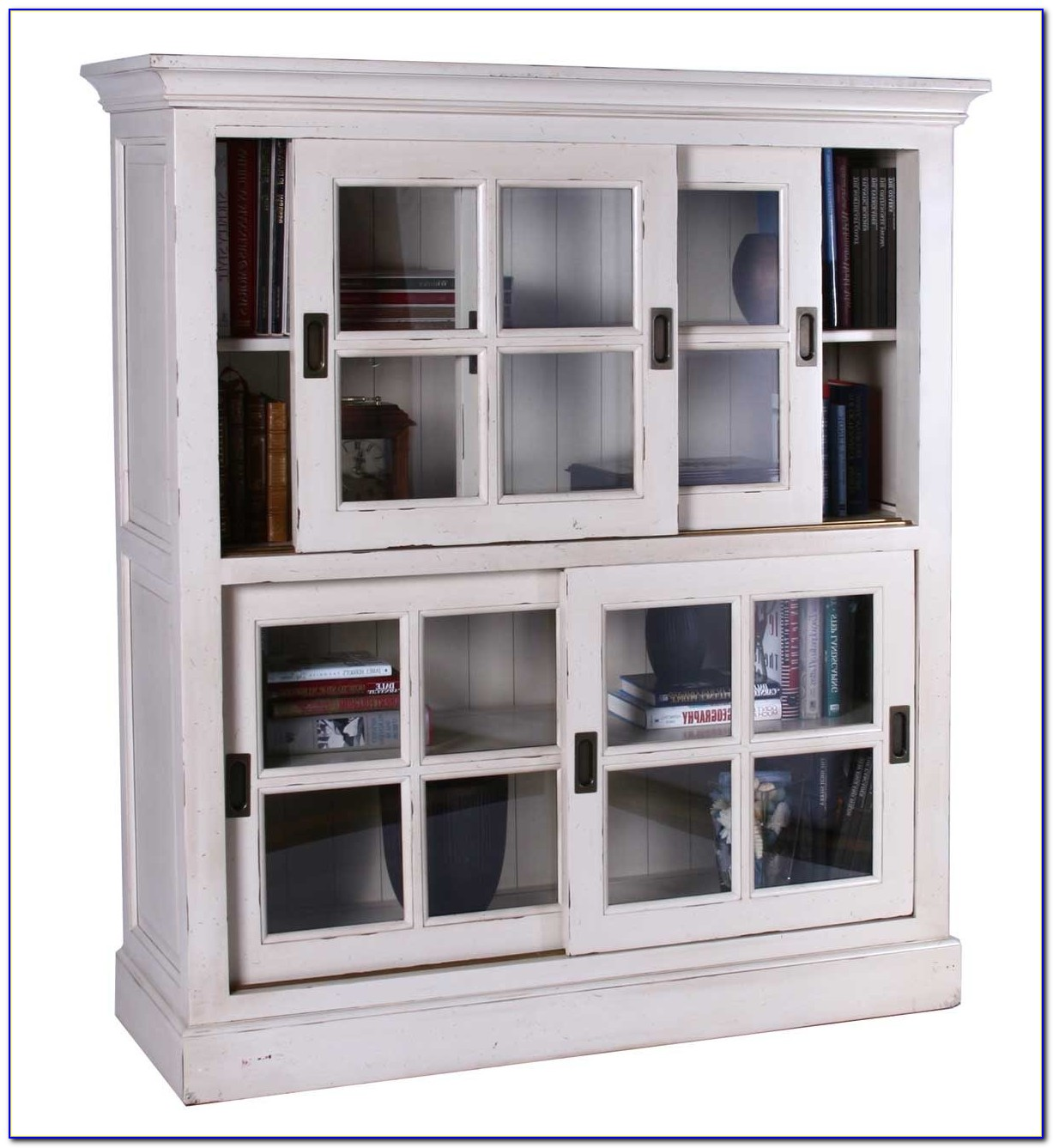 Billy Bookcase Sliding Doors