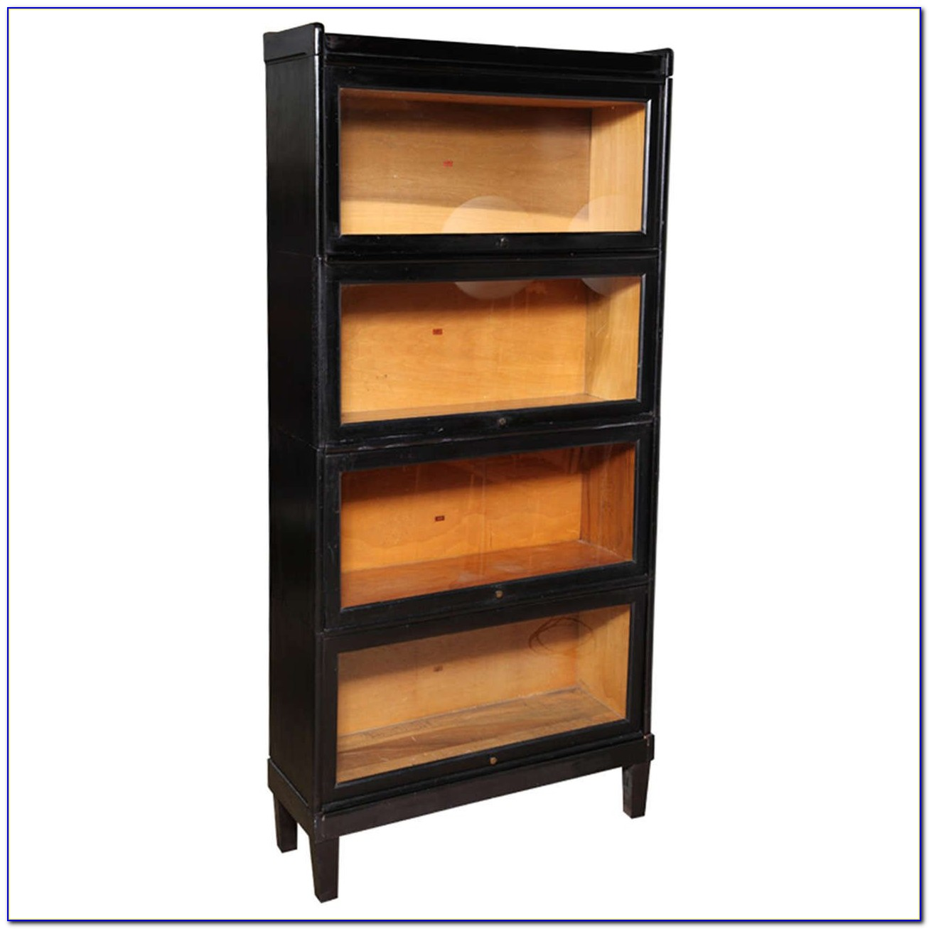 Black Barrister Bookcase