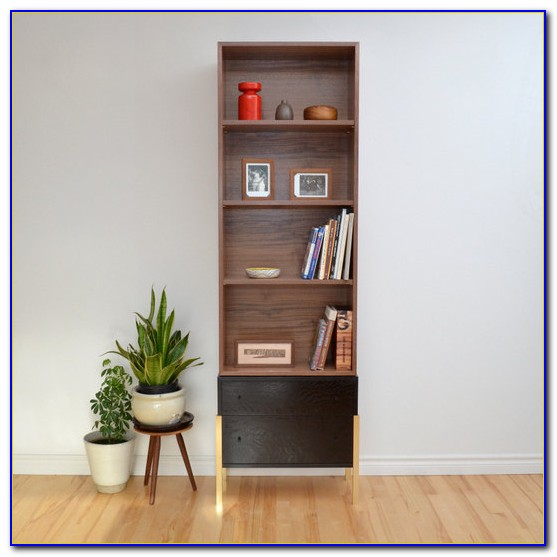Black Bookcase With Legs