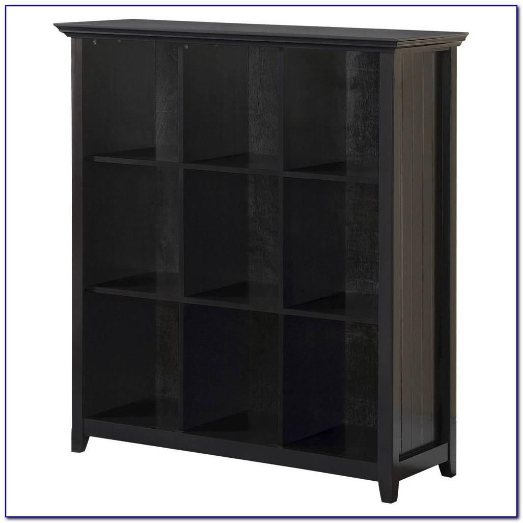 Black Cube Bookshelf