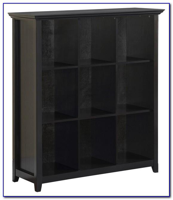 Black Gloss Cube Bookcase