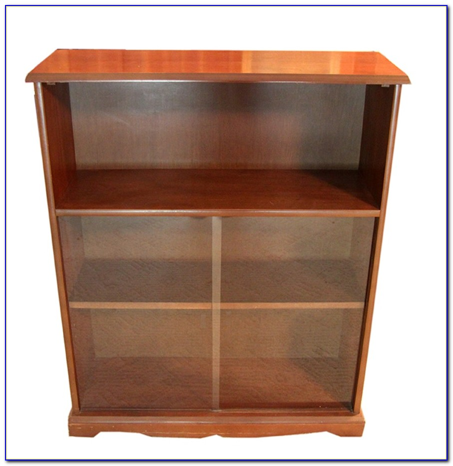 Blair Sliding Glass Door Bookcase
