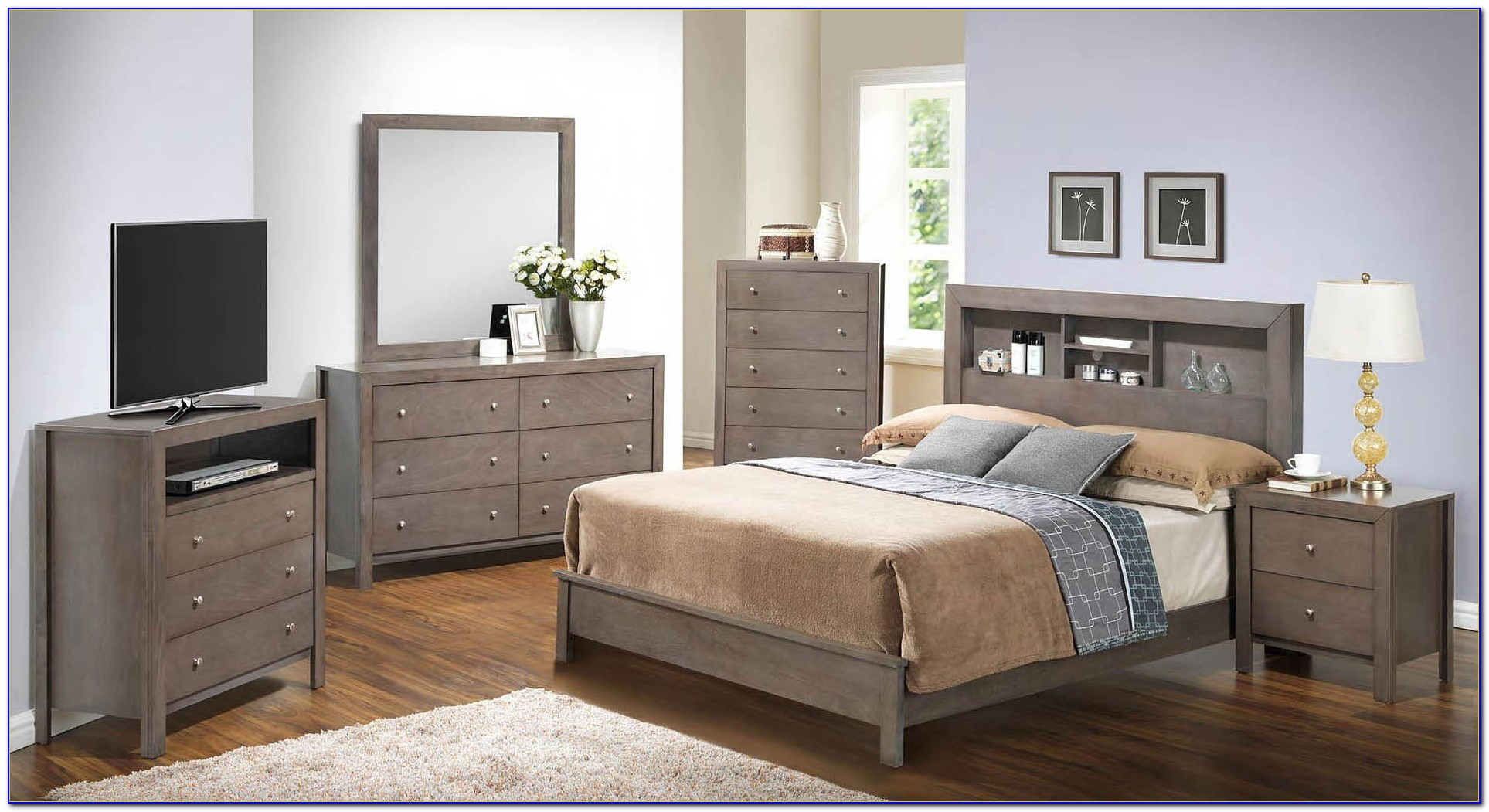 Bookcase Bed Bedroom Furniture