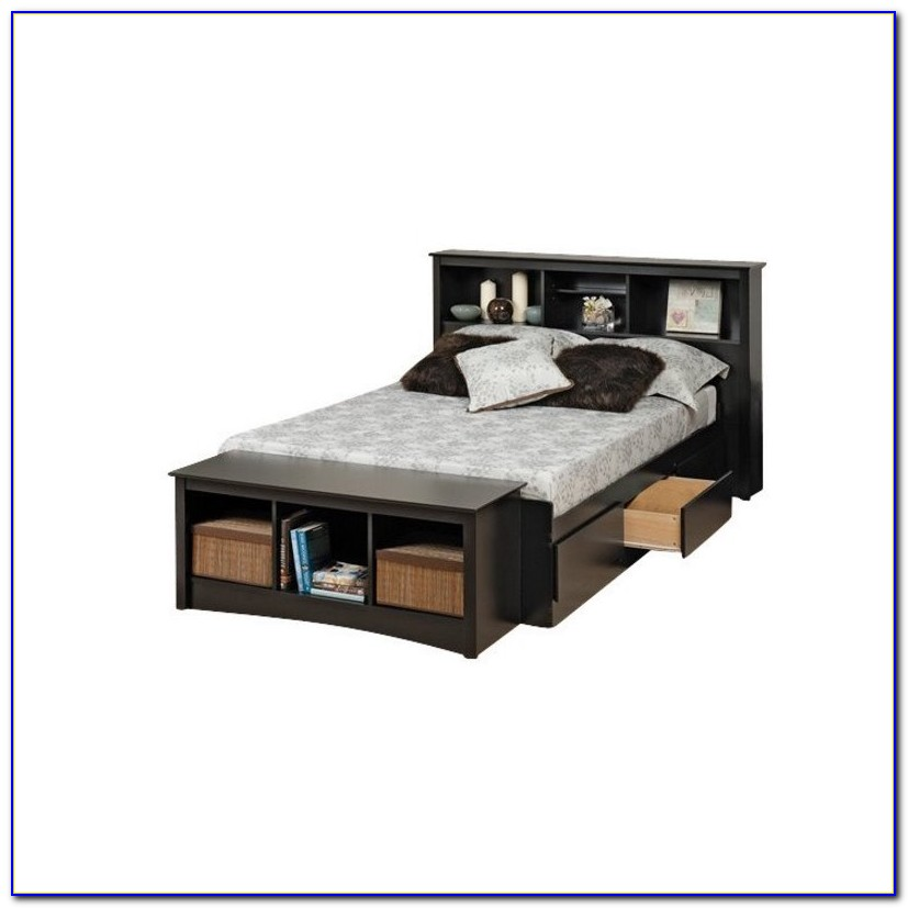 Bookcase Bed Twin Xl