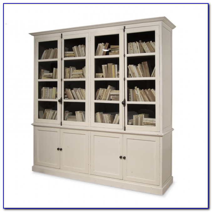 Bookcase Cabinet With Doors