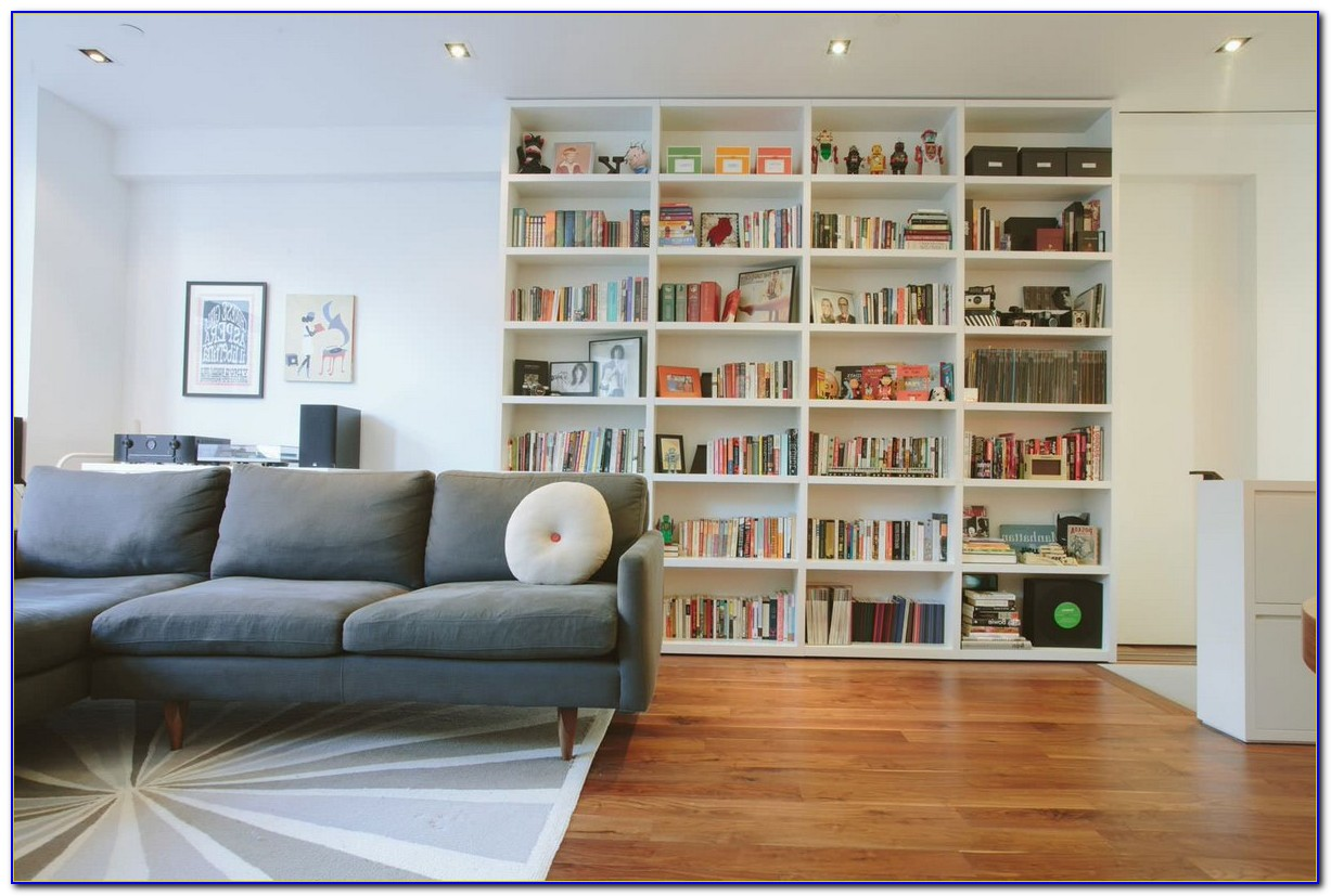 Bookcase Designs Living Rooms