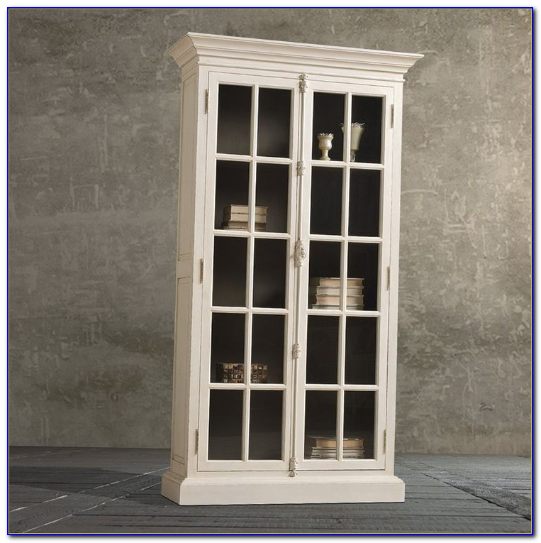 Bookcase Glass Doors Ikea