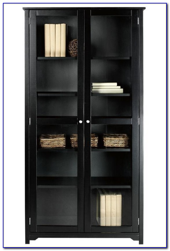 Bookcase Glass Doors Nz