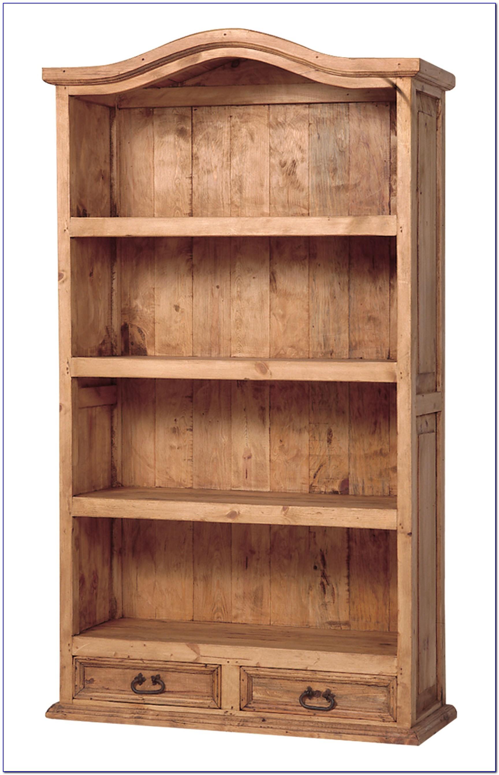 Bookcase Headboard Solid Wood