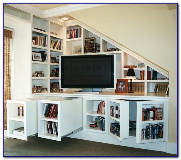 Bookcase Media Center