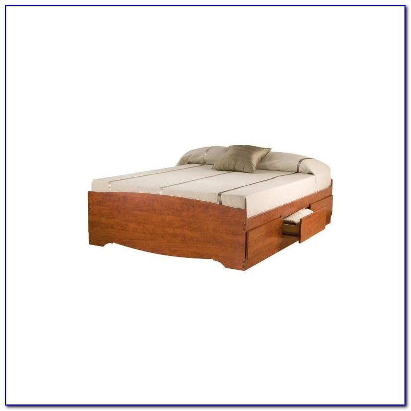 Bookcase Platform Bed Diy