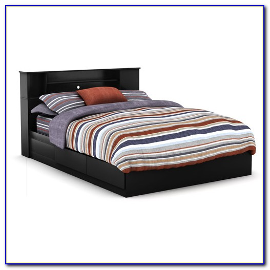 Bookcase Queen Bed Frame