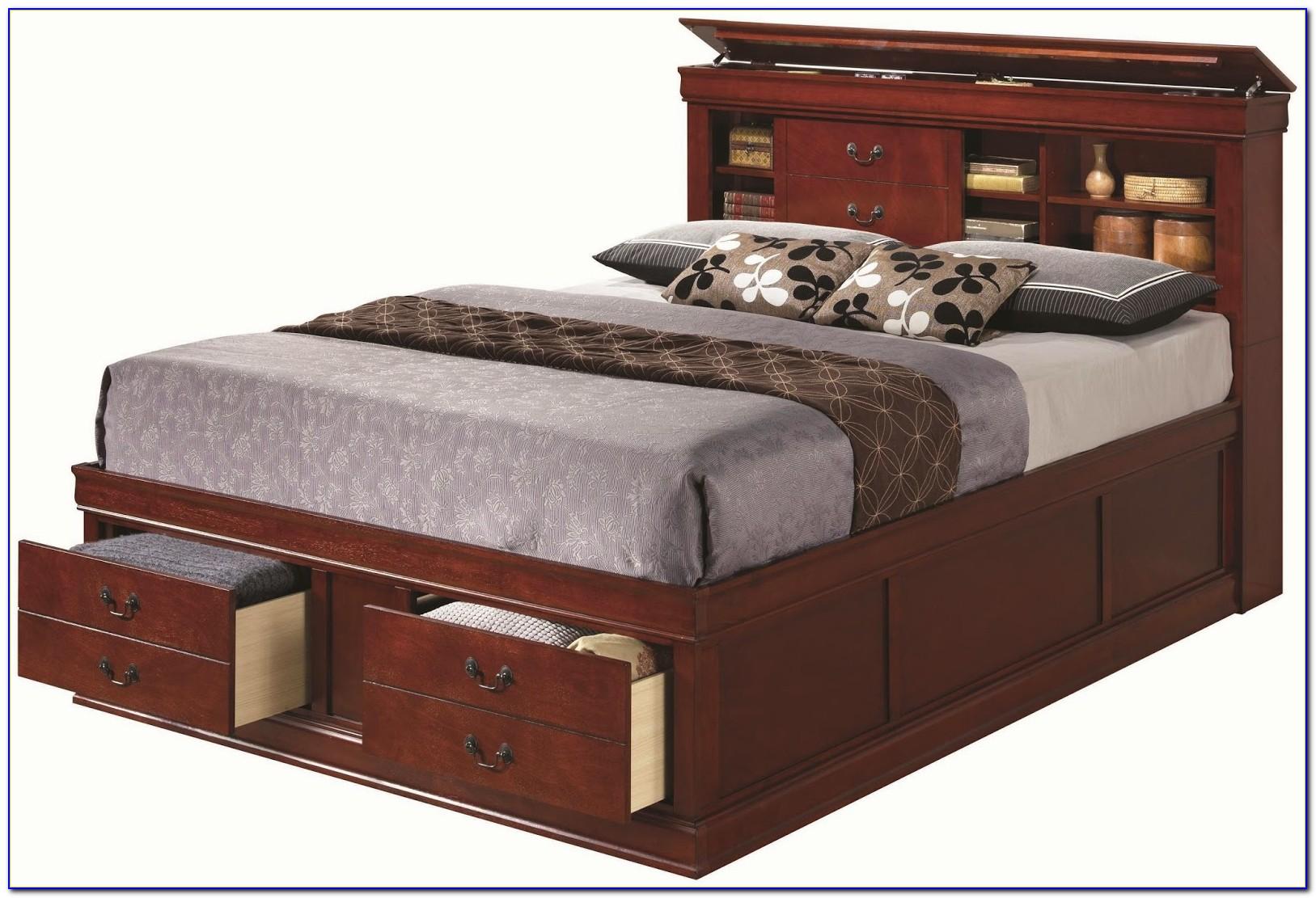 Bookcase Queen Bedroom Set