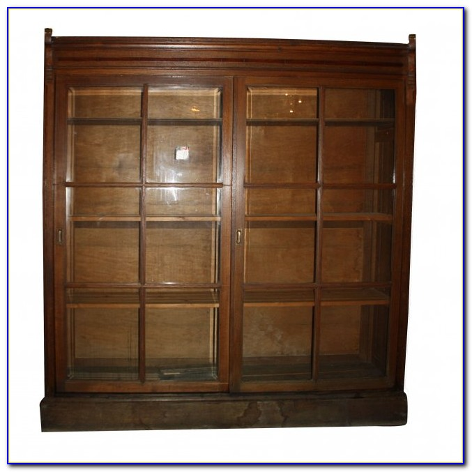 Bookcase Sliding Doors